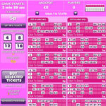 ticket de bingo 90 boules