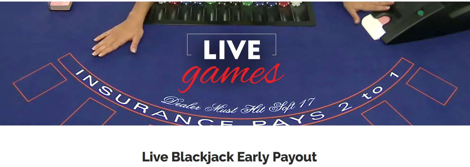 early payour blackjack